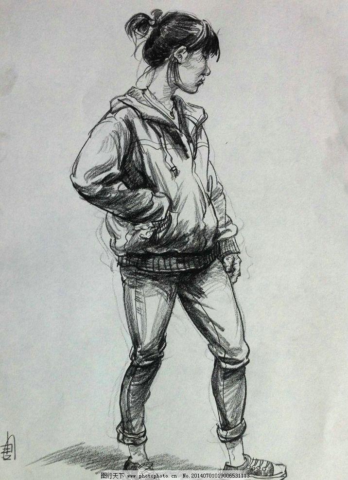 唐宪 速写人物图片