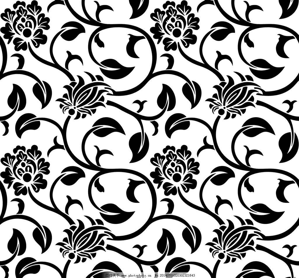 手抄报,黑白边框简单又漂亮,卡通可爱边框图片大全,黑白花纹图案简单