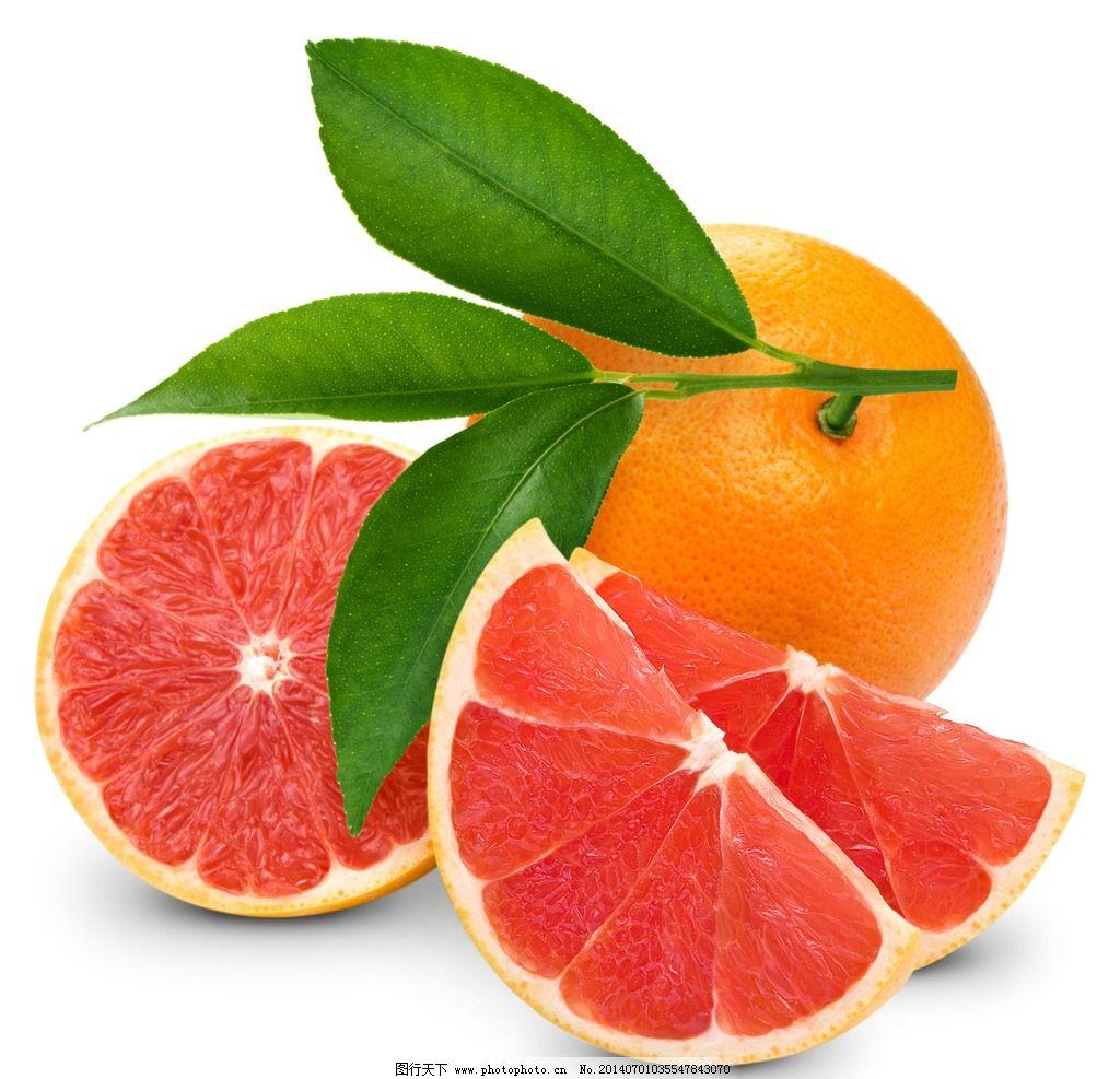 血橙饮料pop手绘海报