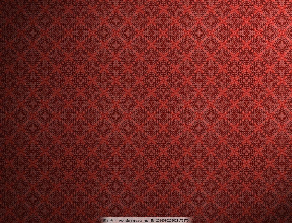 红色欧式花纹背景 底纹背景 背景底纹 底纹边框