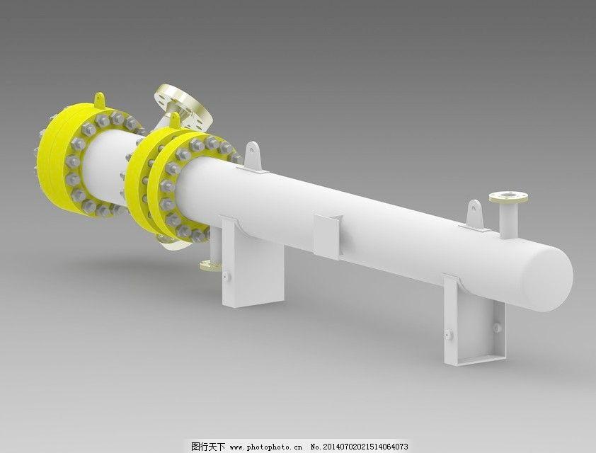 燃气热水器免费下载 工业设计 管道 能源和电力 工业设计 管道 3d模型