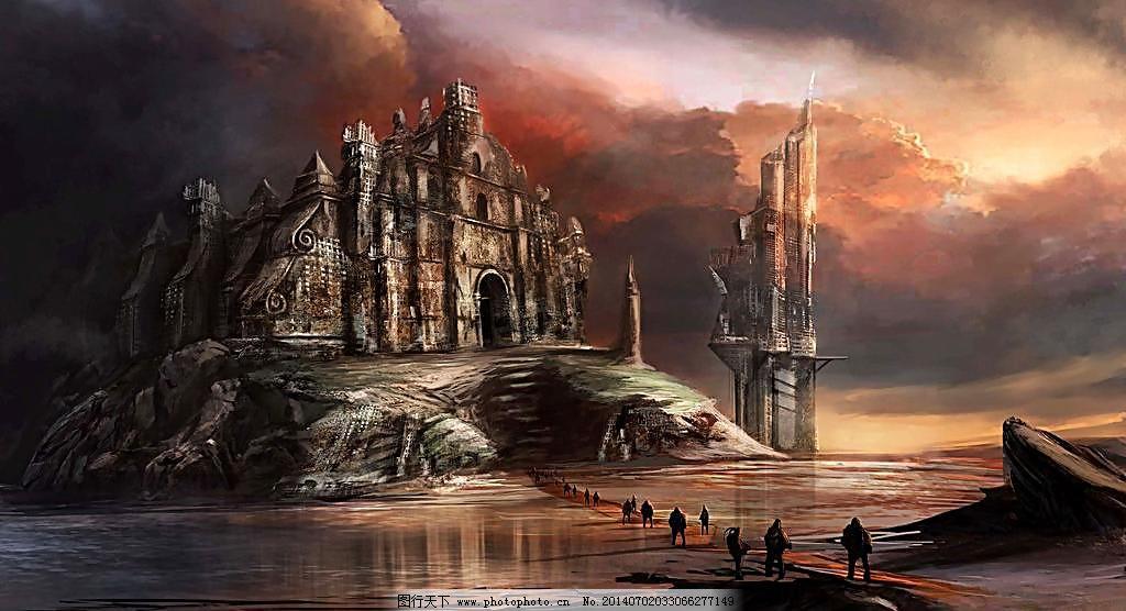 古城堡图片图片
