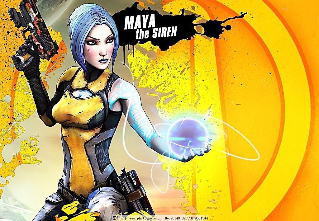 jpg 动漫动画 动漫人物 卡通线条 科幻 玛雅 美女 设计 外星 游戏