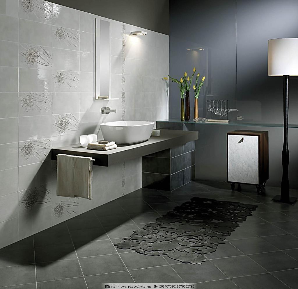 风格 花洒 浴室卫生间瓷砖铺贴应用美图 建筑 室内 样板间 欧式 新