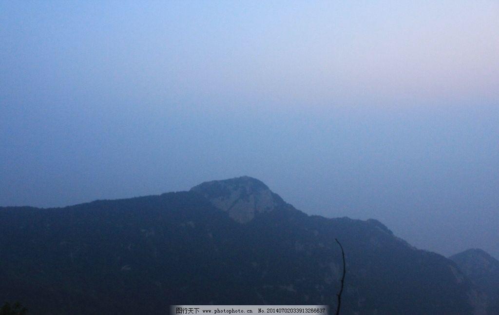 泰山 天空 蓝天 云彩 山峰 山峦 国内旅游 旅游摄影