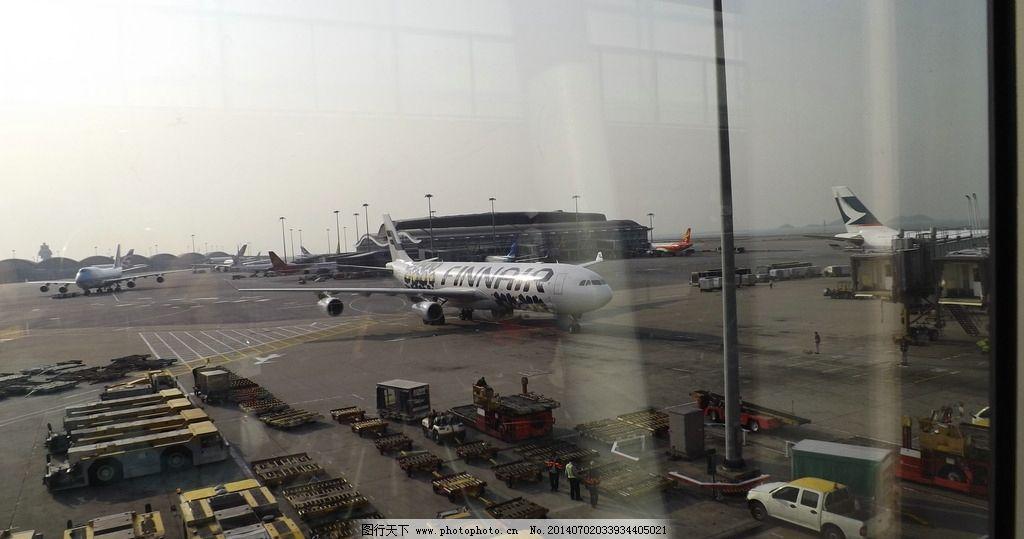 飞机场 飞机 香港 国际