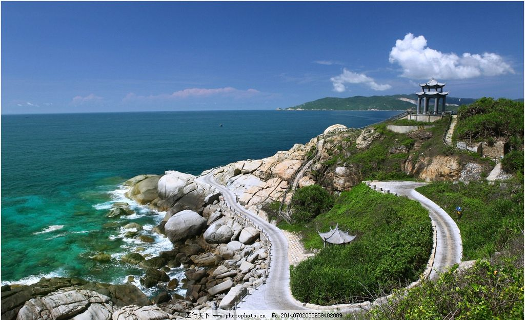 海南三亚蜈支洲岛风光图片