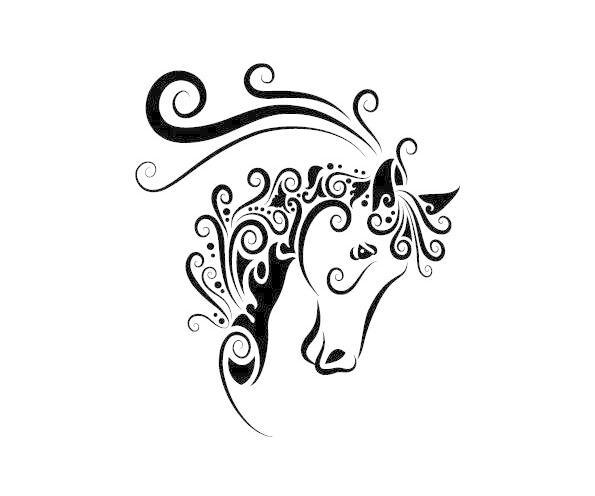 手绘动物花纹矢量素材5