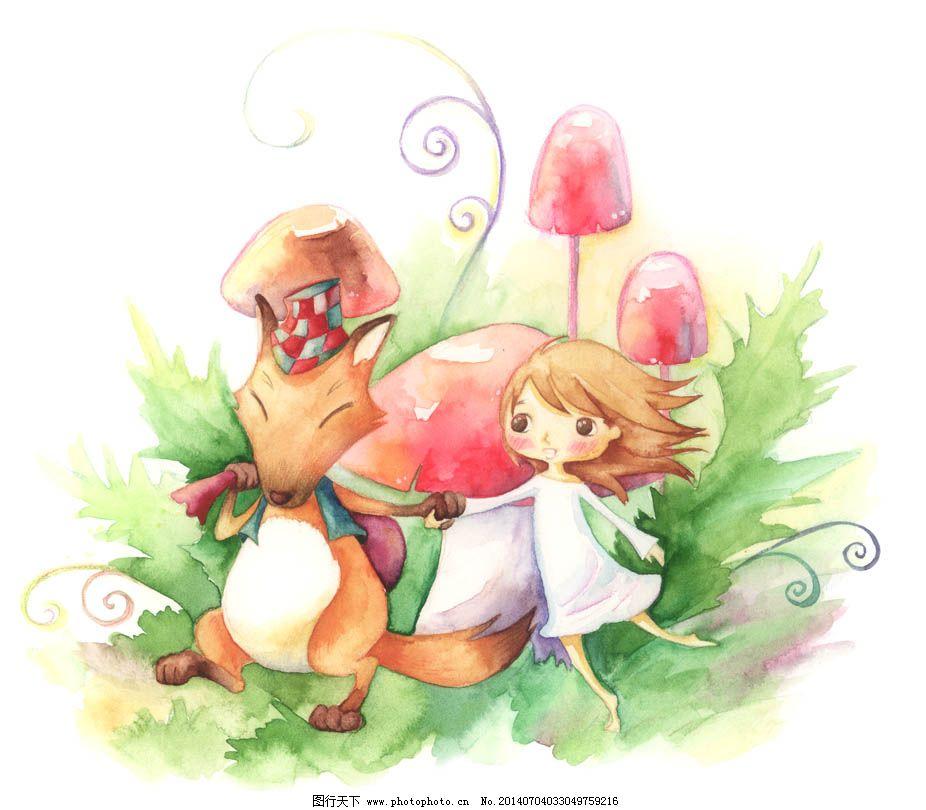psd源文件 动物 风景 韩国 花卉 玫瑰 人物 手绘 手绘花卉 手绘漫画