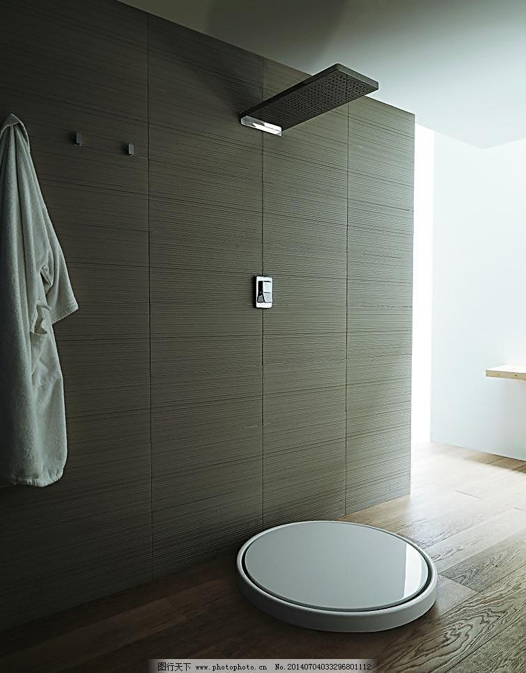 卫生间 厕所 豪华 花洒 环境设计 淋浴 龙头 面盆 沐浴 浴缸