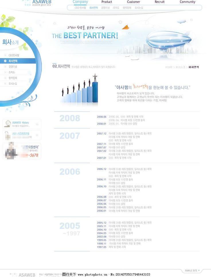 界面设计 行业网站 互联网 门户网站 电子商务 网站模板 英文 网页