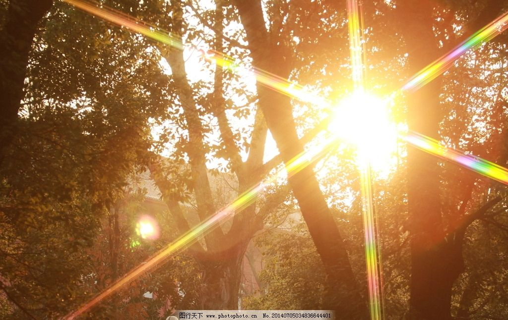 逆光 星光镜 东方红广场 湖南 长沙 自然风景 自然景观 摄影 72dpi