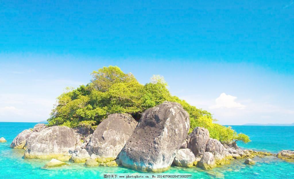 岛屿 海边风景 风景壁纸 清澈 太平洋 海水 海岸 海边 海湾 海湖江河