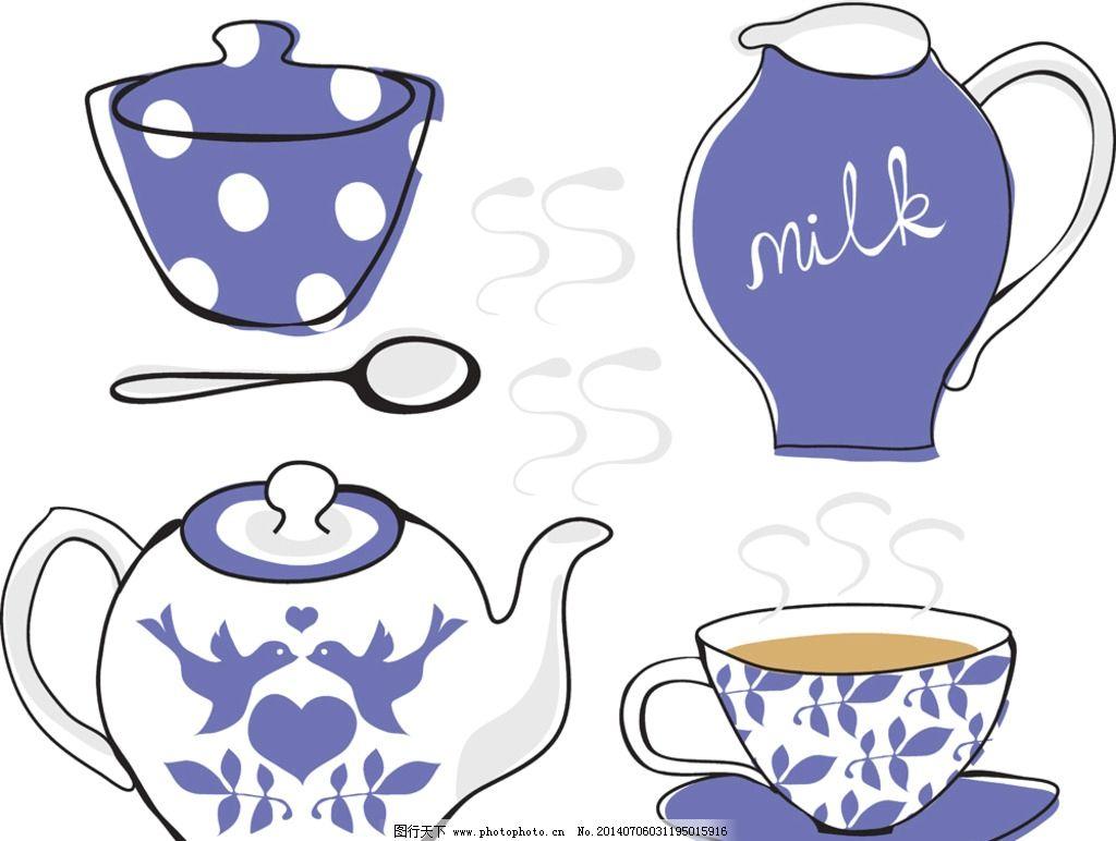 牛奶制作卡通手绘