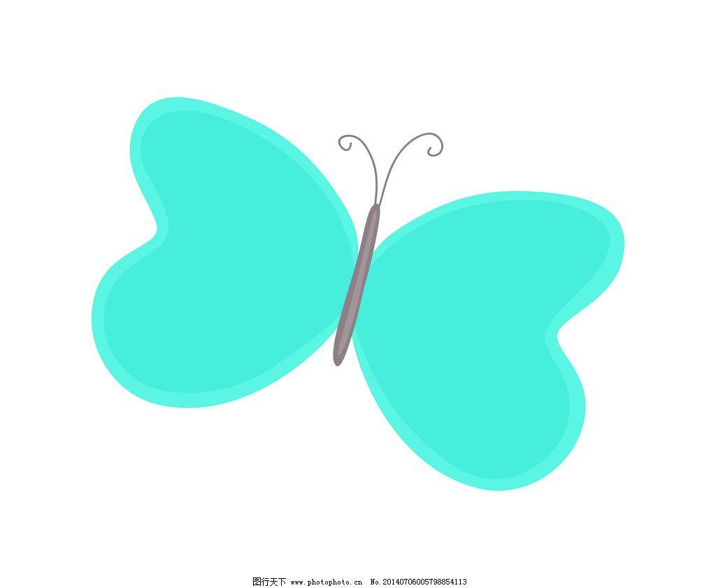 剪贴画卡通蝴蝶