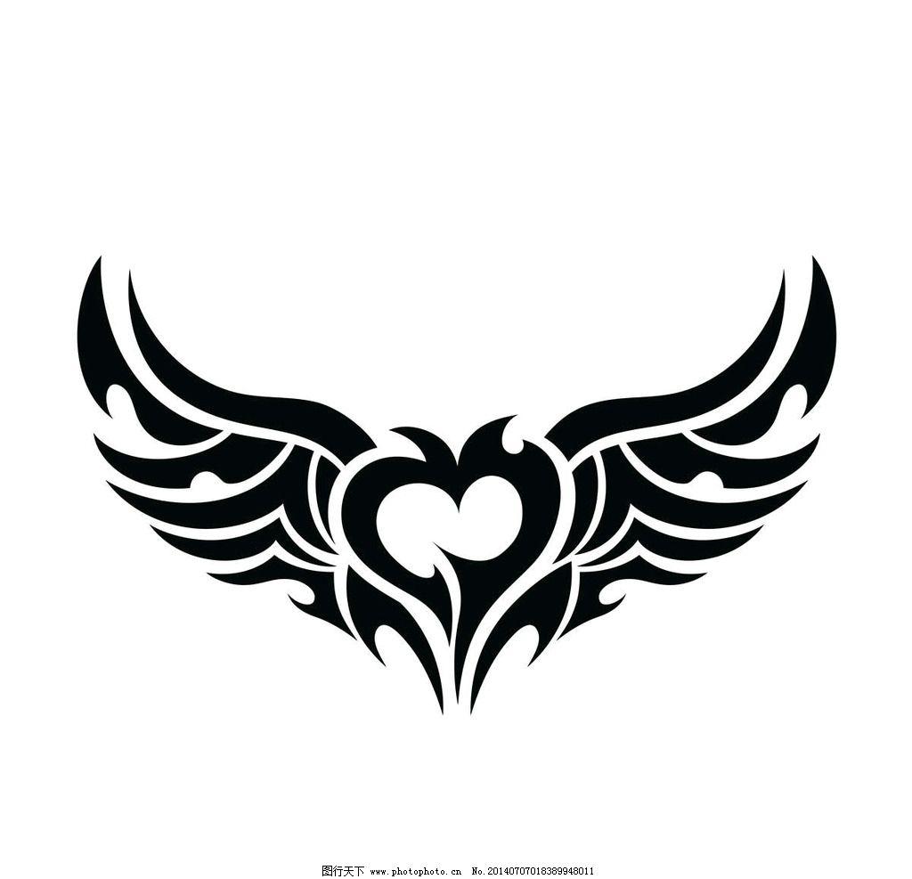 心形纹身t恤图案 心形 红心 心形图案 t恤花纹 t恤 t恤样式 t恤款式