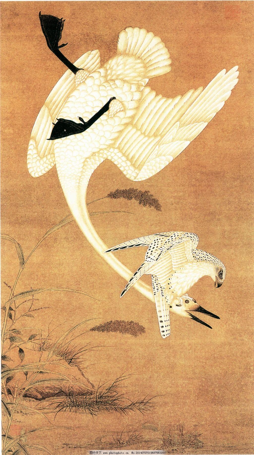 仙鹤延年 仙鹤延年免费下载 白鹤 花鸟 写意 艺术 图片素材 文化艺术