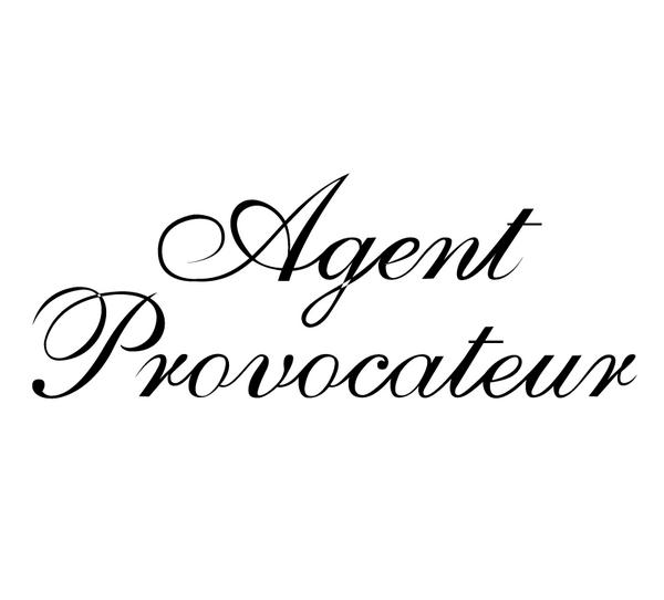 欣赏/Agent_Provocateur logo设计欣赏Agent_Provocateur服装品牌...