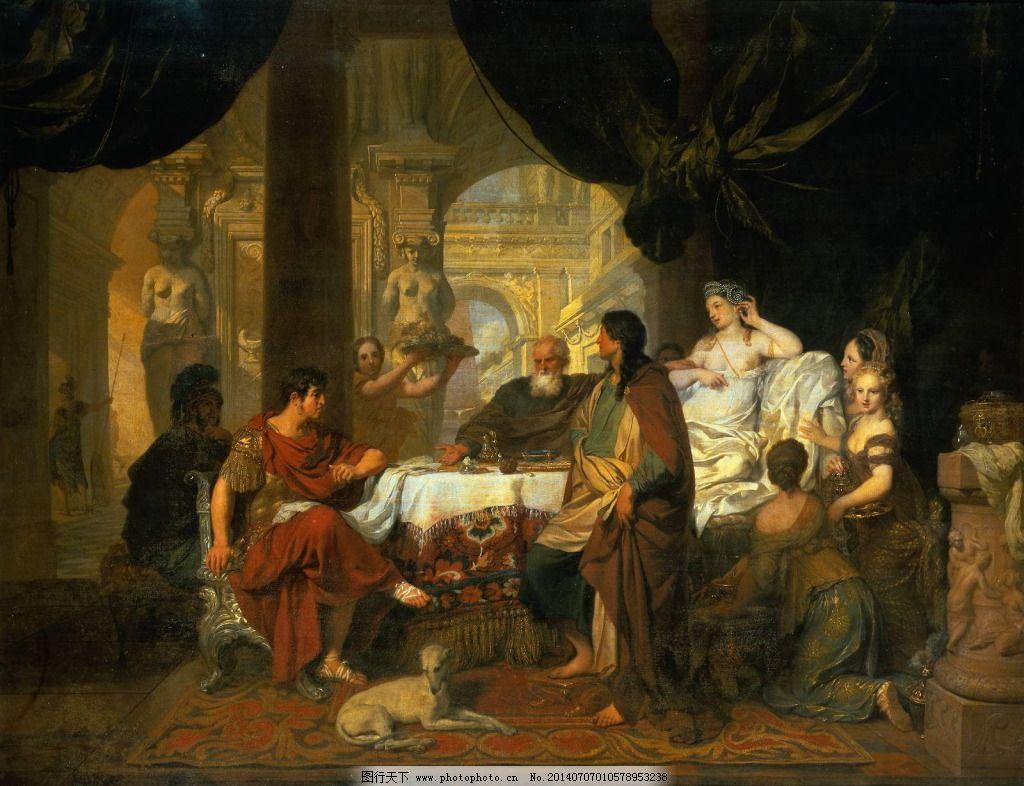 最后的晚餐 最后的晚餐免费下载 大师 名画 欧洲 油画作品 西方美术