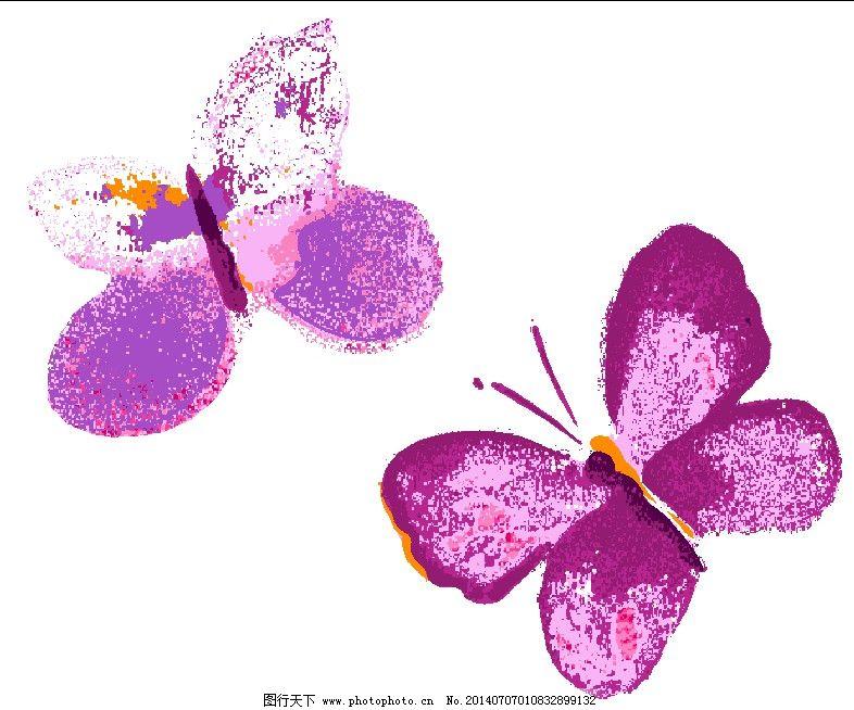 蝴蝶免费下载 蝴蝶 手绘图
