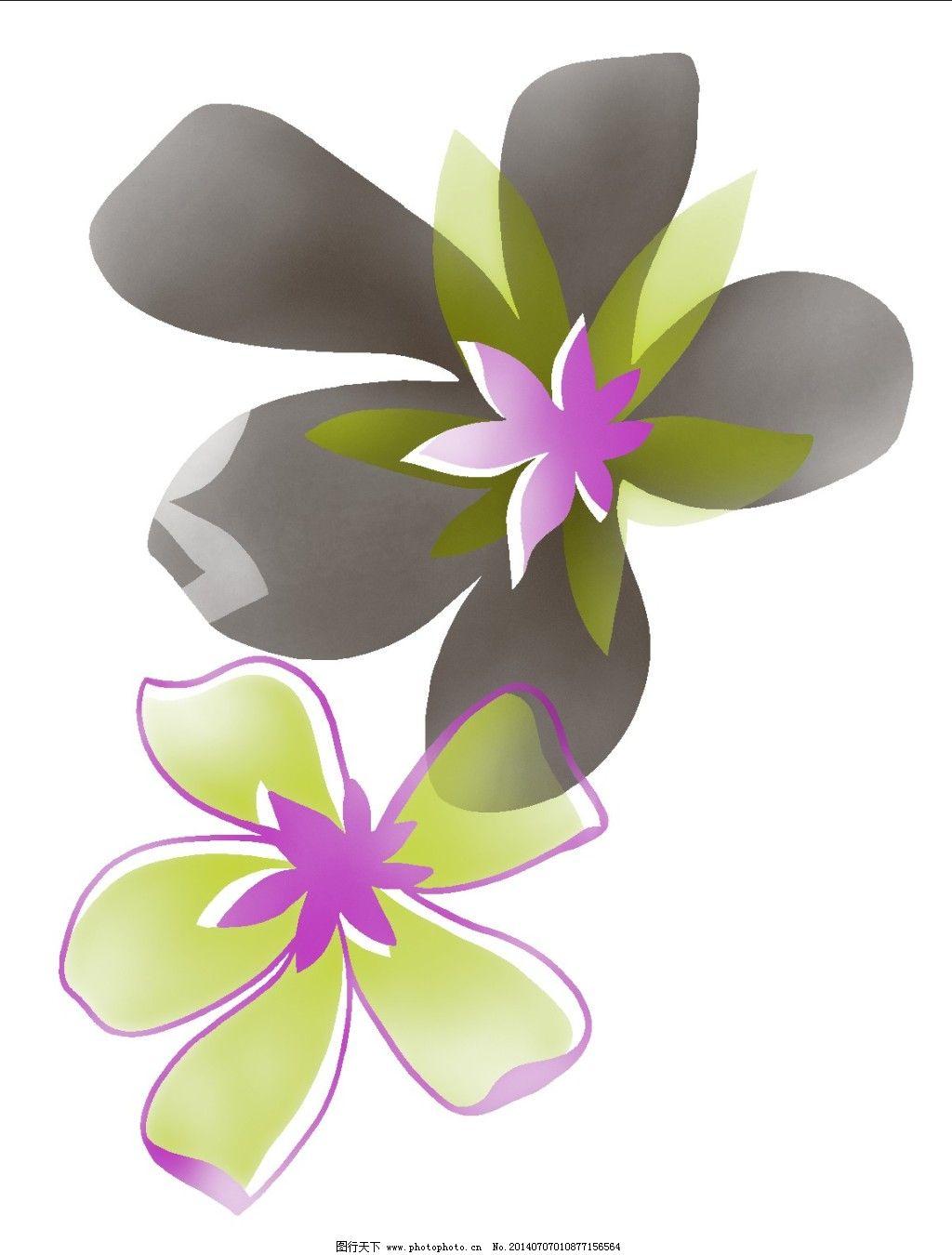 灰色花瓣免费下载 花卉 手绘图 灰色花瓣 手绘图 灰色花瓣手绘素材