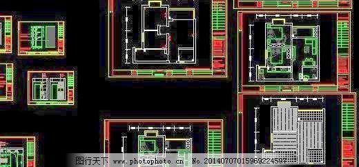 房屋装修 建筑设计 室内 图纸 装修 两室 一厅 室内 装修 两室一厅