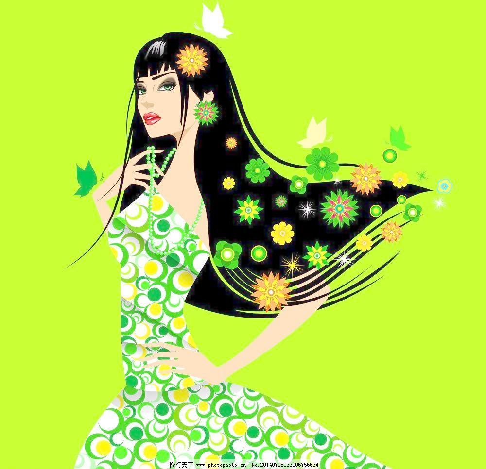 手绘 植物花卉 妇女节