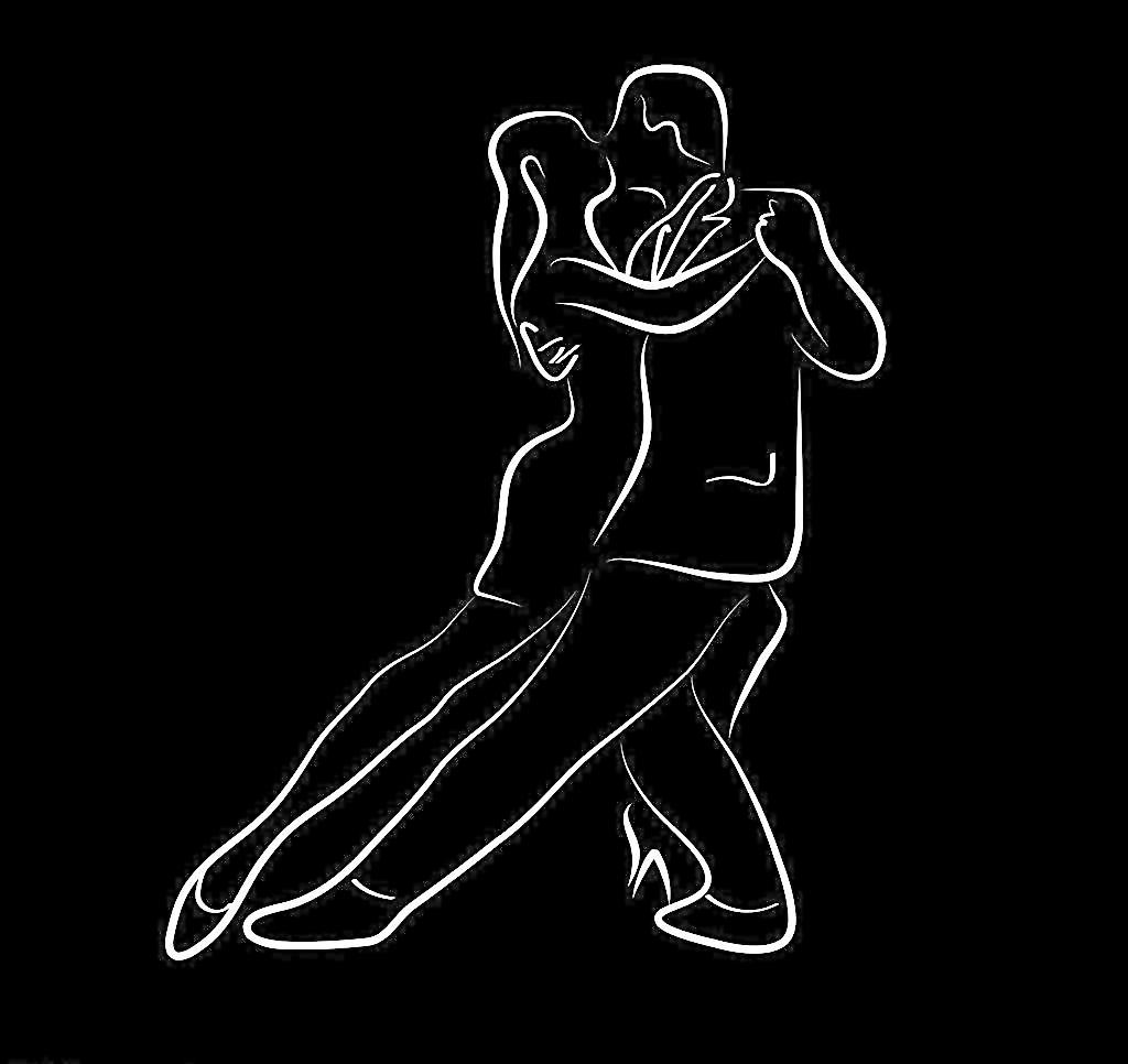 简笔画跳舞步骤