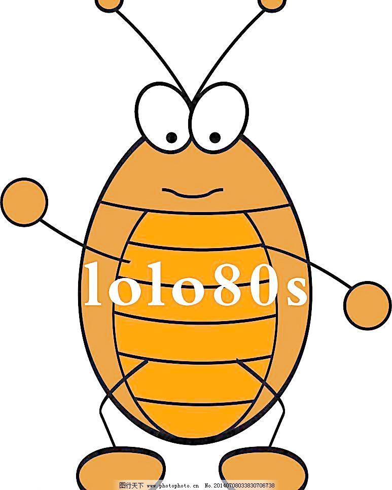 卡通蟑螂小强图片图片