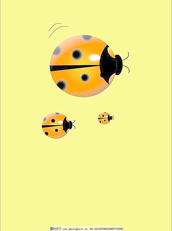 小动物插画图片