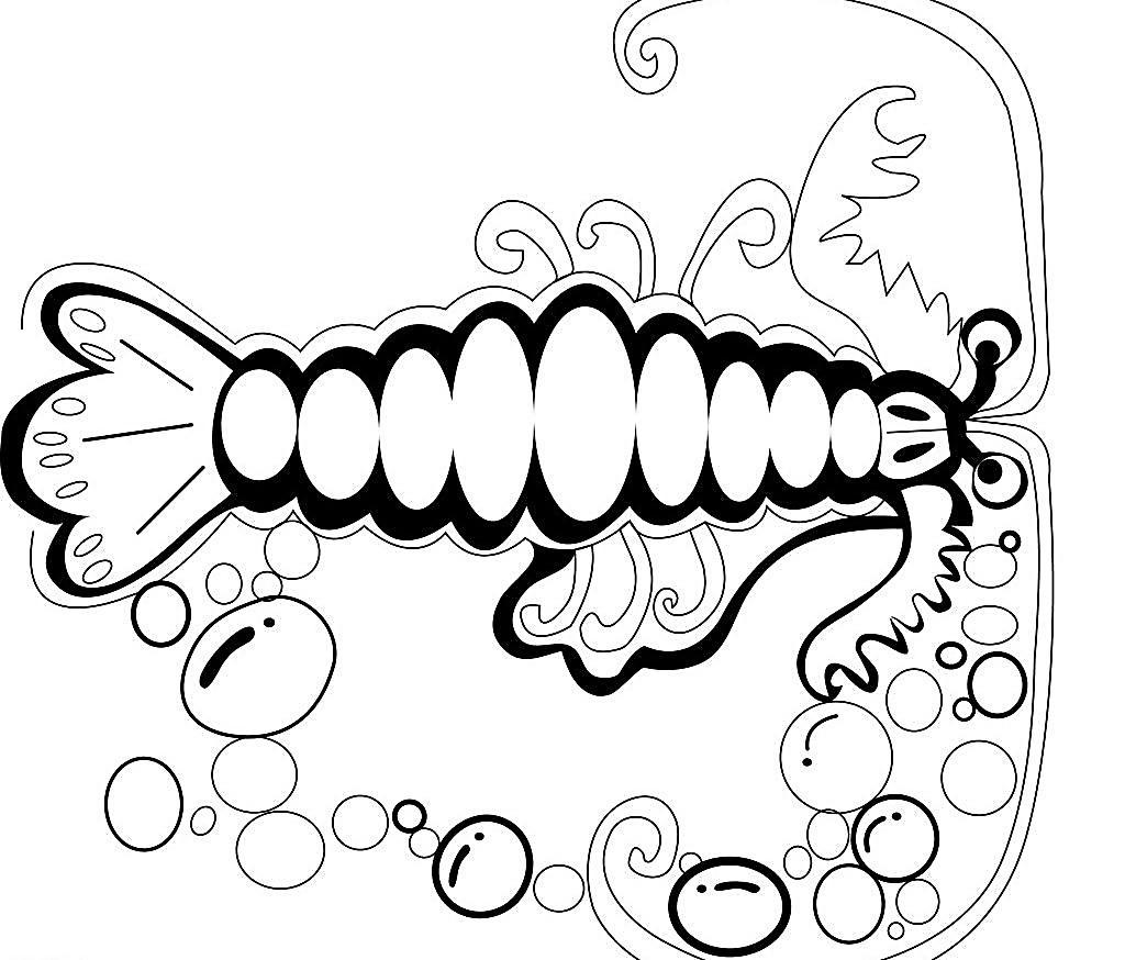 可爱手绘卡通龙虾图片免费下载