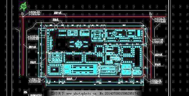 厂区总平面布置图
