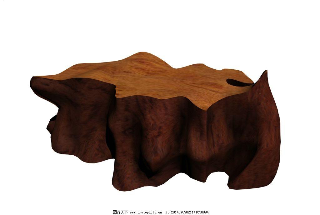 根雕模型 家具 家具模型 椅子 椅子模型 茶几 茶几模型 桌子