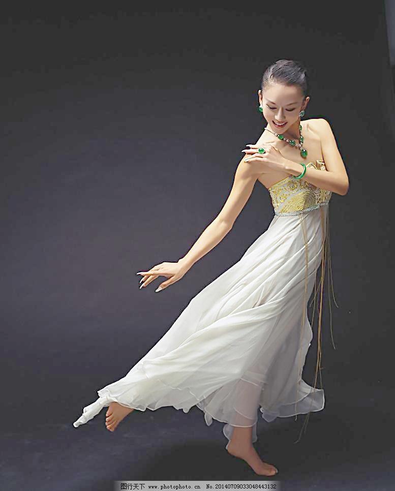耳环 明星偶像 气质 人物图库 摄影 手镯 项链 杨丽萍 杨丽萍 舞蹈家