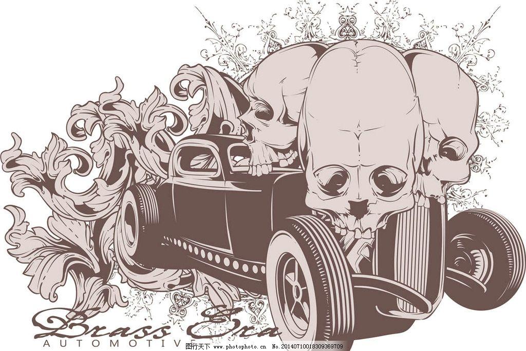 t恤设计纹身图案图片_动漫人物_动漫卡通_图行天下图库