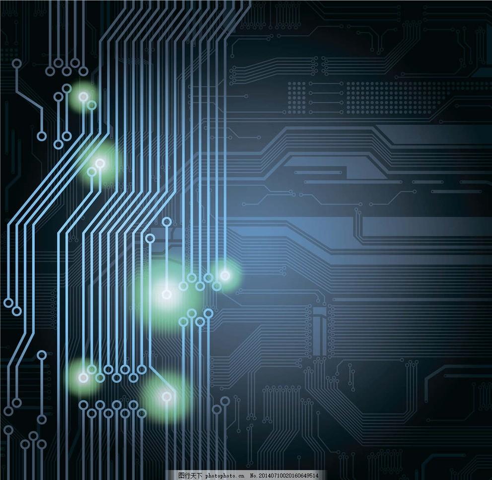 电子背景 电子元件 电路板 高科技 科技 科技设计 科技图标 科技花纹