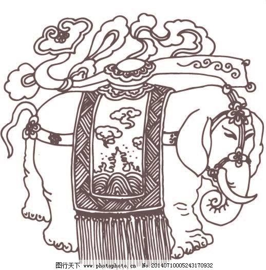 矢量大象免费下载 大象 吉祥如意 矢量大象 线描人物 玉如意 矢量古纹 线描人物 大象 玉如意 吉祥如意 矢量大象 矢量图 花纹花边