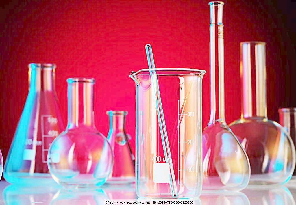 科学实验化学实验烧杯图片