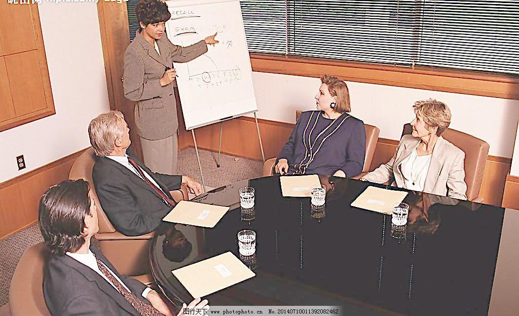 办公室场景图片_室内设计