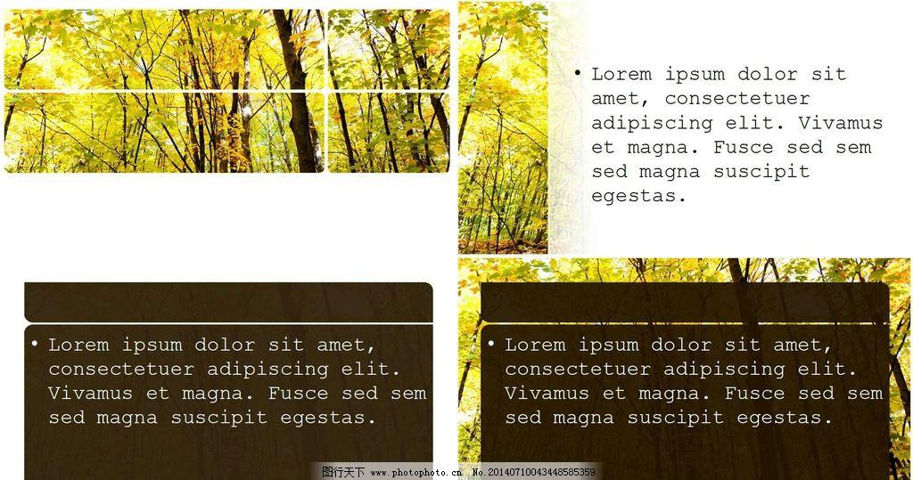森林 风景背景 图案 背景 线条 ppt 模板 ppt背景底图 多媒体图片