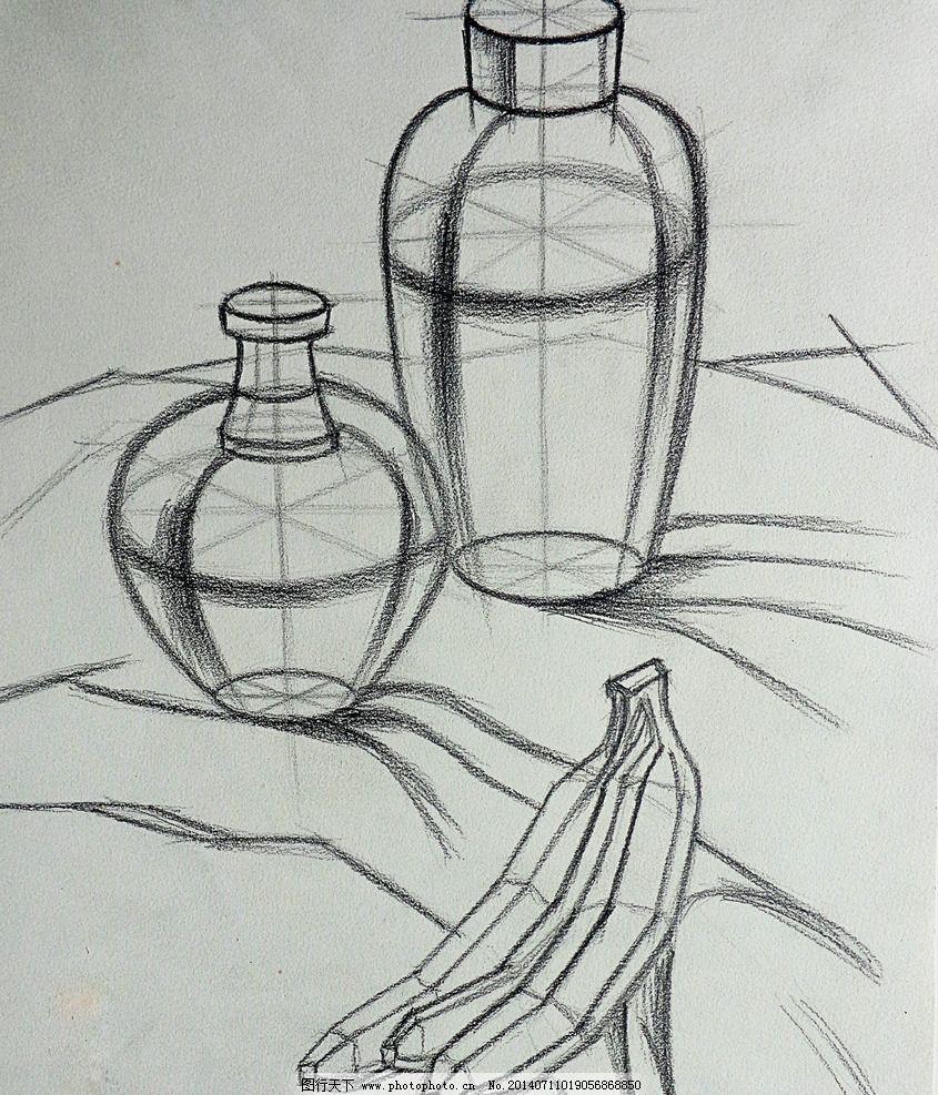 静物素描 速写 设计素描 线稿图 结构图 绘画 绘画书法 文化艺术 设计