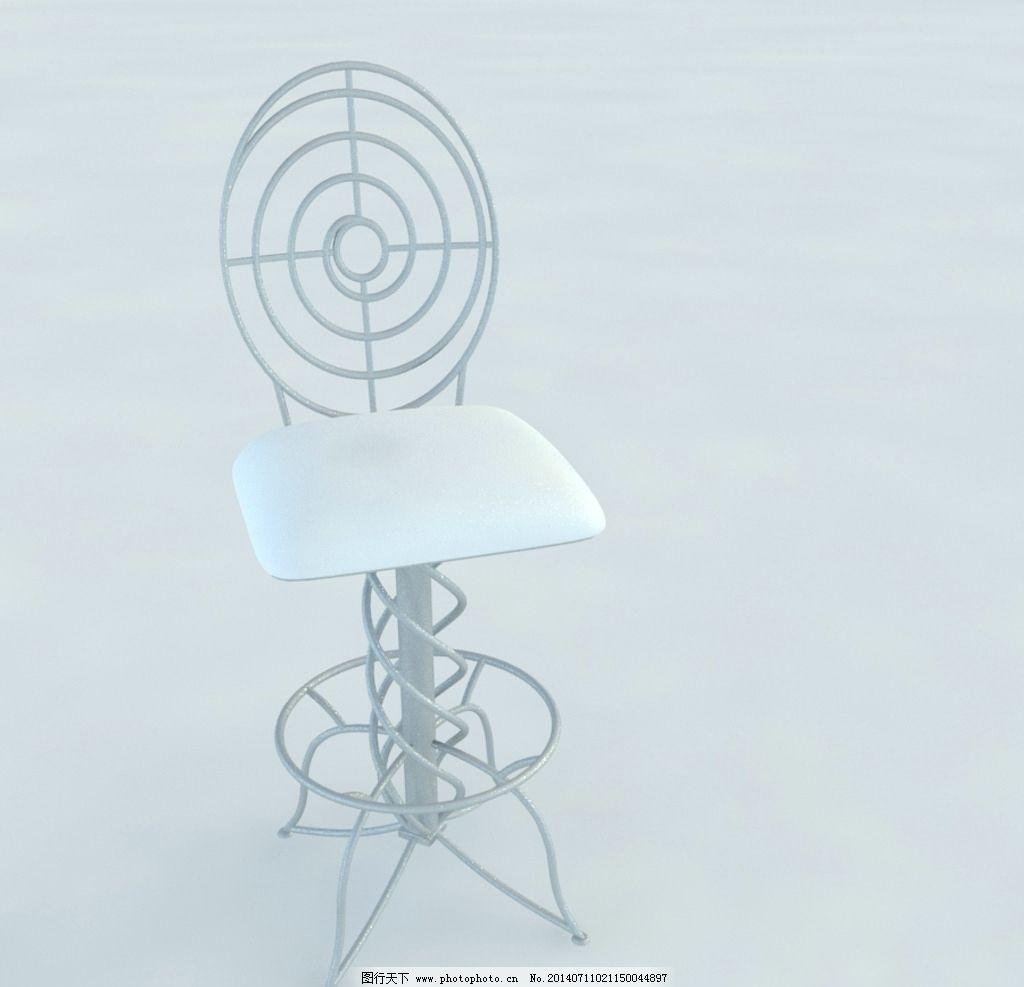 椅子 欧式 家具 家居 vray模型 模型下载 室内模型 3d设计 设计 72dpi图片