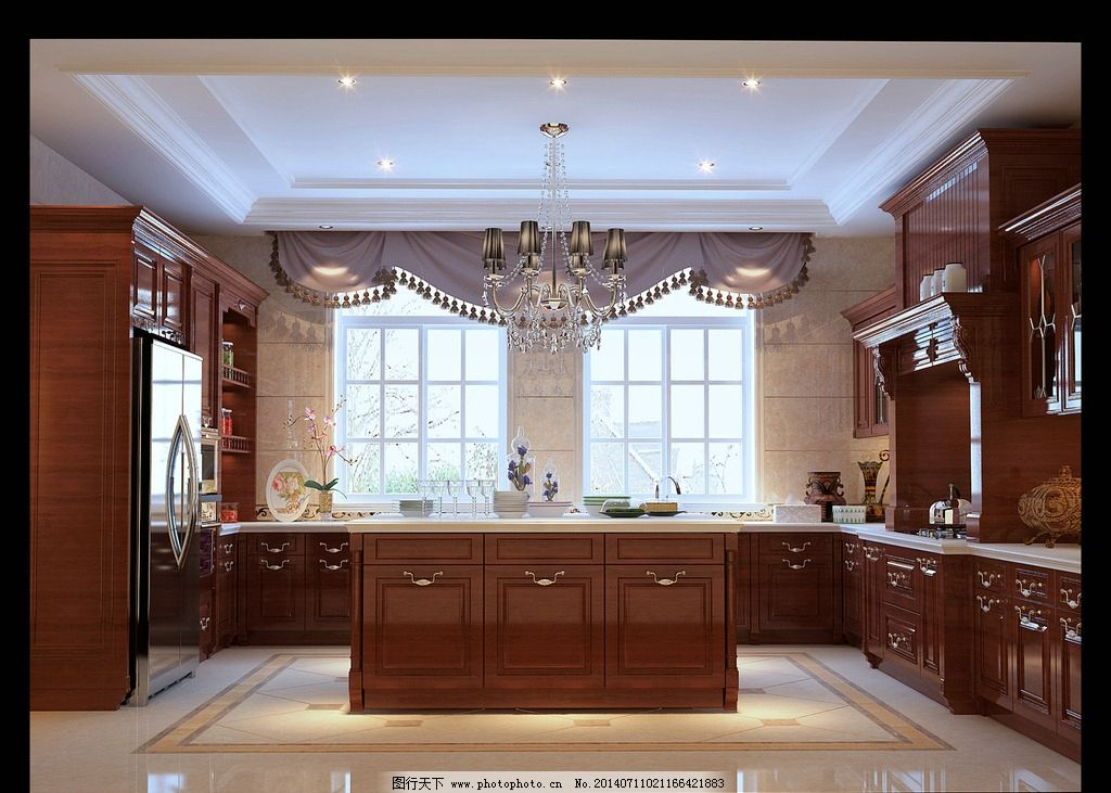 欧式风格厨房 欧式 风格图片
