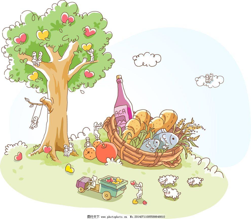 大树下的野餐