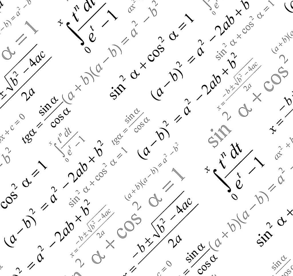 eps 背景底纹矢量素材 底纹背景 底纹边框 符号 计算 数字 数学公式