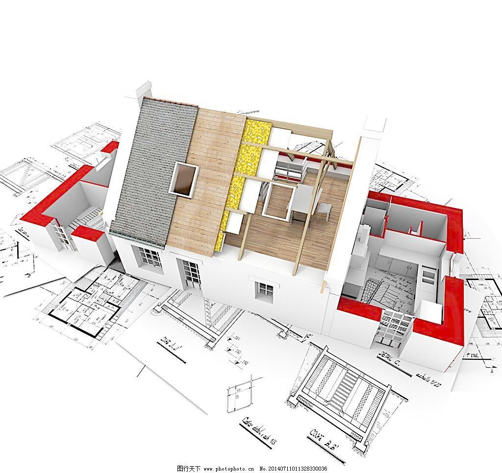 300dpi 3d 3d房子 3d设计 jpg 办公室 别墅 创意图片 房产 房地产 3d