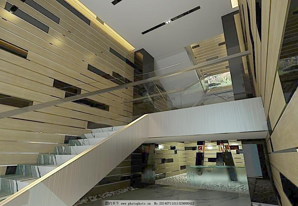 农村房室内楼梯设计图展示