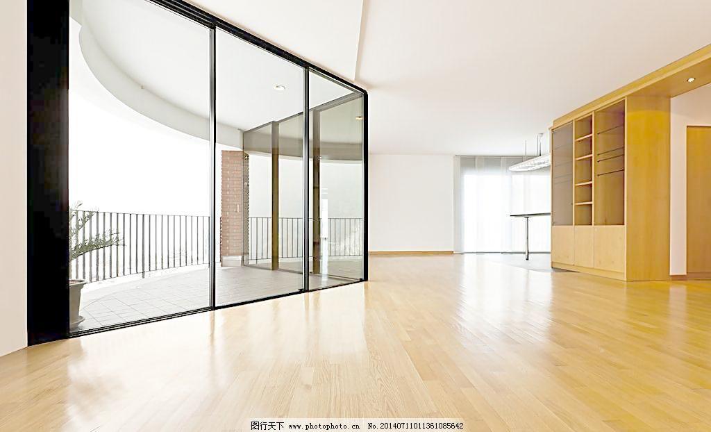 拉门 地板大厅 地板 大厅 练功房 办公室 阳台 木地板 别墅 高层