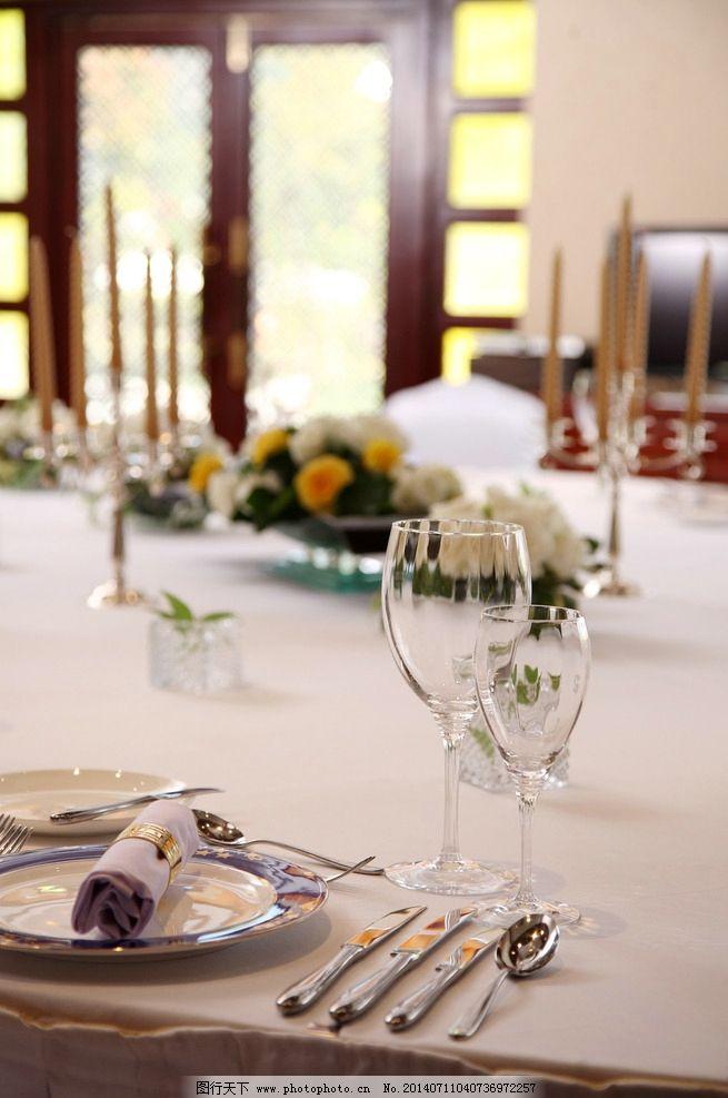 西餐厅摆台 酒店 摆台 餐厅 酒店设施 餐饮美食 西餐厅 其他 摄影 350图片