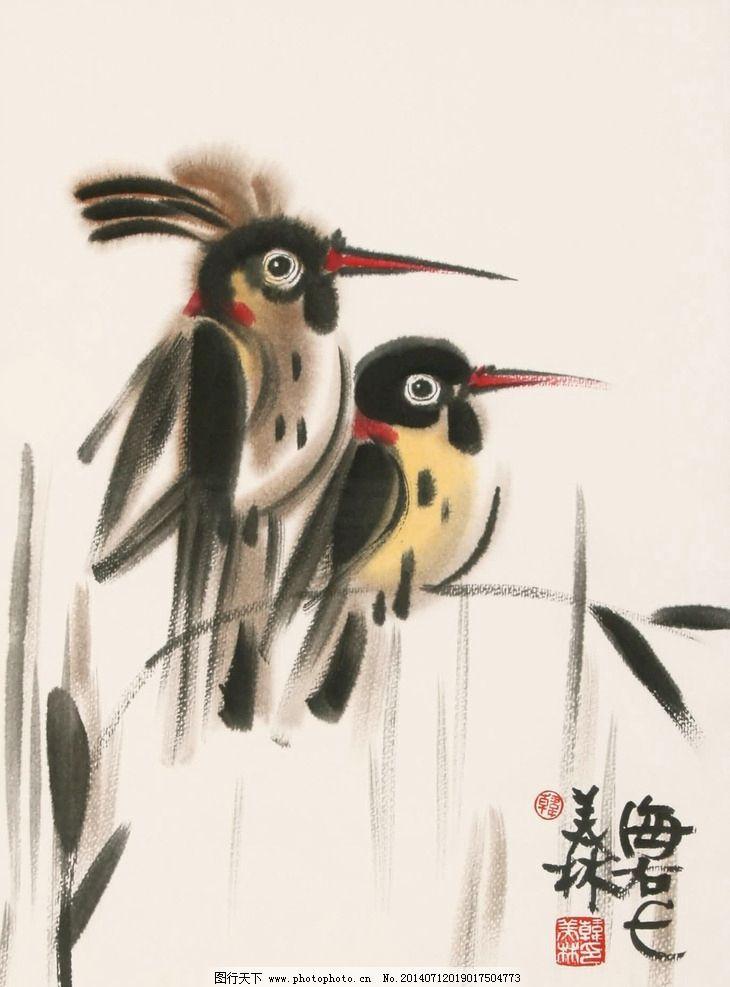壁纸 动物 国画 鸟 鸟类 雀 730_987 竖版 竖屏 手机